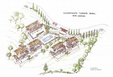 Se vende parcela con proyecto para turismo rural